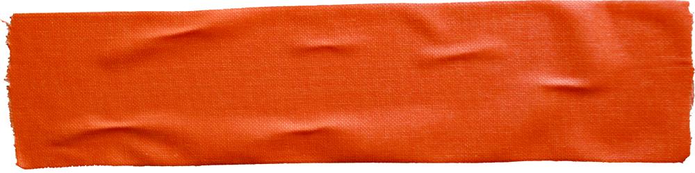 orange tape long